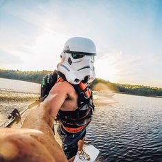 Sometimes, #stormtroopers need a little R&R. #maythe4thbewithyou #StarWars