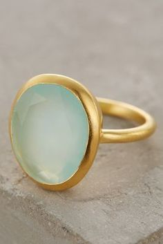 Roost Seastone Ring #anthroregistry