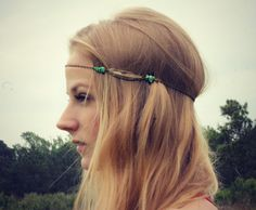 Hey, I found this really awesome Etsy listing at https://www.etsy.com/listing/186128534/feather-head-chain-chain-headband