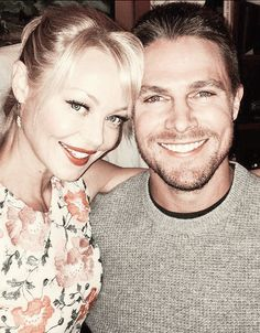 Charlotte Ross & Stephen Amell - Felicity's mom is impossible to say no to :)