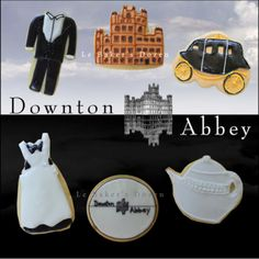 For Downton Abbey Fans: Downton Abbey Cookies