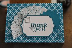 Naptime is Stamptime: Stampin' Up! Everyday Occasions Thank You