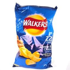 Walkers Cheese & Onion Crisps 22 Pack 650g - http://handygrocery.org/grocery-gourmet-food/snack-foods/walkers-cheese-onion-crisps-22-pack-650g-ca/