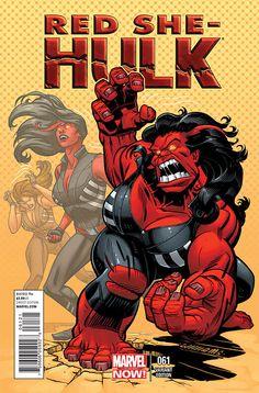 Red She-Hulk comic books Batman Comic Art, Batman And Superman, Batman Comics, Red She Hulk, Red Hulk, Marvel Comic Character, Marvel Comic Books, She Hulk Transformation, World War Hulk