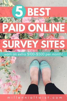 Make Money With Surveys Survey Websites, Online Survey Sites, Best Survey Sites, Online Jobs, Best Paid Online Surveys, Earn Money Online, Make Money From Home, Way To Make Money, Managing Your Money