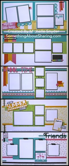 A Twist On Scrapbook Compositions