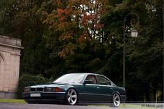 BMW E38 7 series green