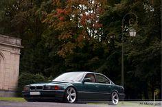 BMW E38 7 series green