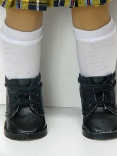 18 inch doll clothes AG doll clothes Girl doll clothes 18 in doll white knee hi socks by Unendingtreasures on Etsy