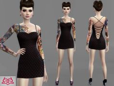 690c7590a187 Inspired by my real creations Found in TSR Category  Sims 4 Female Everyday