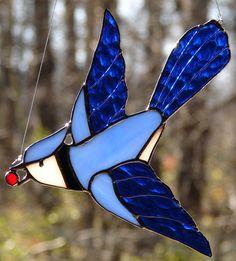 101. oiseau en pâte de verre
