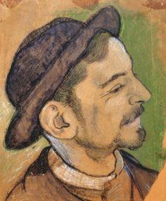 Le grenier de Jes68 (Jes68's Attic) • Louis Anquetin (1861-1932), Emile Bernard,1887.