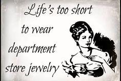 Love to wear jewelry. #zuobisijewelry