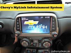 Chevy's MyLink Infotainment System  #tmomchevy #tmomonstar