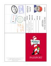 Magic Elf- Elf Passport and elf letters (for my Elf on the Shelf)