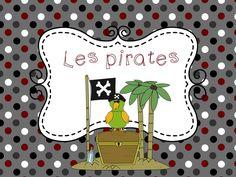 Des idées et des activités sur le thème des pirates