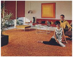 Living Room Decor, 1966