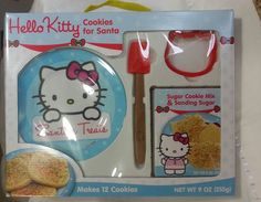 Hello Kitty Cookies Baking Kit Factory NIB EXP:8/20/2016 Children Educational #hellokitty #LYLACS_4U #anime #sanrio