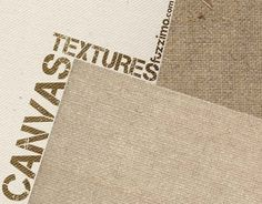 Free Hi-Res Canvas Textures + Seamless