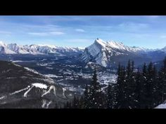 Snow topped mountains are the backdrop of a magical winter getaway. 10 spectacular reasons to visit Banff Canada in winter. Banff Canada, Banff Alberta, Snow Mountain, Winter Travel, Backdrops, National Parks, To Go, Around The Worlds, Hiking