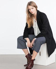 MASCULINE COAT-Outerwear-WOMAN | ZARA United States