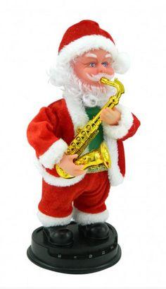 Papa Noel NM 06 Musical $20000 28 x 14 cms Christmas Shows, I Love Lucy, Elf On The Shelf, Disney Princess, Holiday Decor, Bella, Santa, Stuff Stuff, Xmas