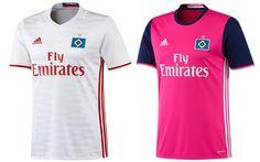 Camisas do HSV 2016-2017 Adidas