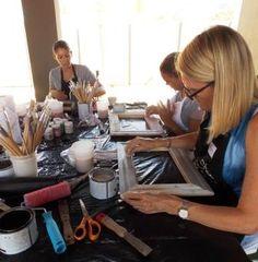 Introduction to Chalk paint - Workshop Woman Painting, Chalk Paint, Restoration, Workshop, Lady, Atelier, Work Shop Garage