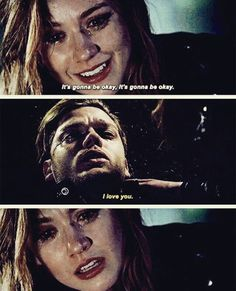 """He wanted his last words to be  """" I love you"""" to Clary ahhahahaha"""
