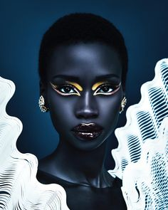 Digital Photography, Portrait Photography, Fashion Photography, Afro, Bold Makeup Looks, Glamour Photo, Fashion Glamour, Creative Portraits, Black Models