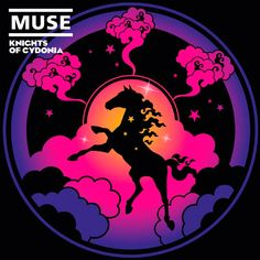 "2006 Muse - Knights Of Cydonia (7"") [Warner Bros. 510118248-7] illustration by Jasper Goodall #albumcove"