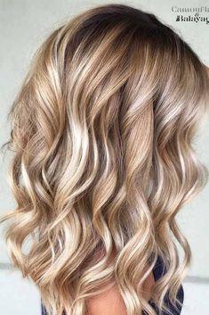 Kurze Blonde Haare Ideen für Sommer Short Blonde Hair Ideas for Summer Hair Dye Colors, Red Hair Color, Hair Color Balayage, Blonde Color, Hair Highlights, Ombre Hair, Bronde Balayage, Red Color, Red Blonde