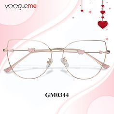 3bdb4cd42396 Nicola Cat Eye Pink Eyeglasses GM0344-01