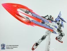 Poison Toys: 1/72 Metal Build Pro Strike Launcher / Sword Strike Equipment - Gundam Kits Collection News and Reviews