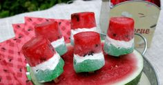 Homemade Watermelon Pops To Make Your Summer More Fun
