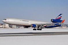 Aeroflot Cargo MD-11F freighter - via PJ de Jong
