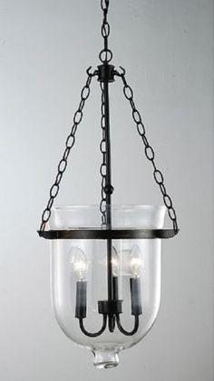 Glass Lantern Chandelier Indoor Lighting Ceiling Lights Light Fixtures 3 Lights