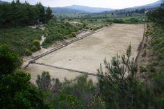 Ancient Stadium, Nemea, Greece.
