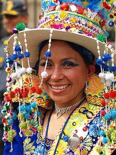 Virgen de La Candelaria Festival, Puno, Peru.
