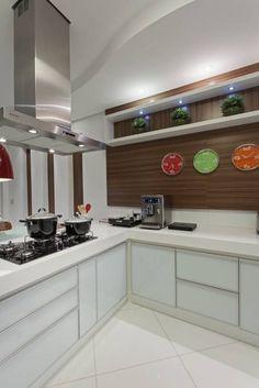 Casa Limeira: Cozinhas translation missing: br.style.cozinhas.moderno por Arquiteto Aquiles Nícolas Kílaris