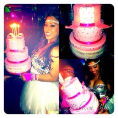 Birthday cake for Shannon K-Aloha @ Crazy Horse, Las Vegas