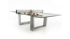 $7,000 Concrete Dining/Ping Pong Table