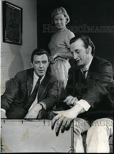 1960-Press-Photo-Robert-Lansing-Barbara-Bel-Geddess-and-George-Scott