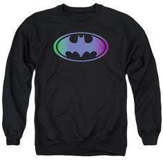 """Checkout our #LicensedGear products FREE SHIPPING + 10% OFF Coupon Code """"Official"""" Batman / Gradient Bat Logo - Adult Crewneck Sweatshirt - Batman / Gradient Bat Logo - Adult Crewneck Sweatshirt - Price: $39.99. Buy now at https://officiallylicensedgear.com/batman-gradient-bat-logo-adult-crewneck-sweatshirt"""