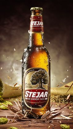Key Visual for Stejar Strong Beer, shot for GMP agency.Photography by Ciprian Țânțăreanu, beerstyling by Adelina Țânțăreanu, retouching by Raluca Băraru.