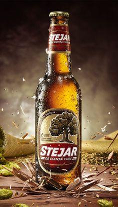 Key Visual for Stejar Strong Beer, shot for GMP agency.Photography by Ciprian Țânțăreanu, beerstyling by Adelina Țânțăreanu, retouching by Raluca Băraru.