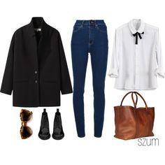 """""""43"""" by szum on Polyvore. perfect everyday outfit"""