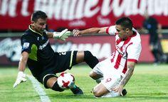 Xanthi-Olympiacos 1-1, Uros Djurdjevic vs Zivkovic.