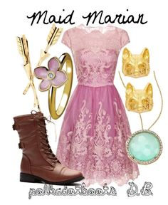 """Maid Marian"" by polkadotboots ❤ liked on Polyvore"