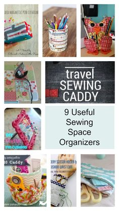 Sewing Space Organizers Pinterest: